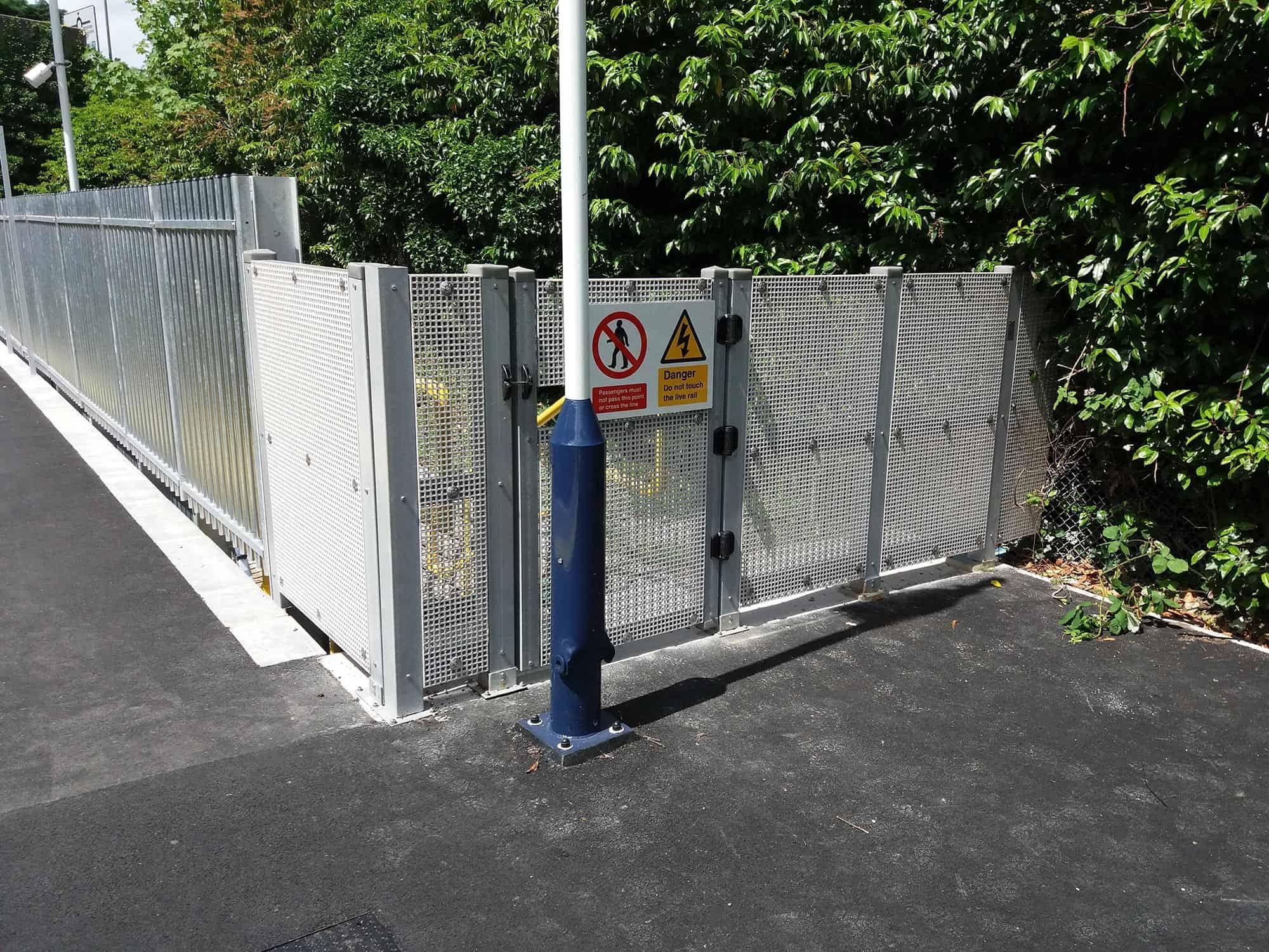 Mesh-Platform-End-Fence
